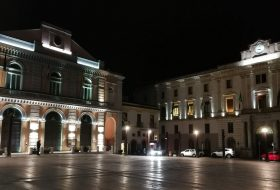 Piazza Mario Paganoa Potenza