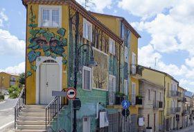 I murales di Satriano di Lucania