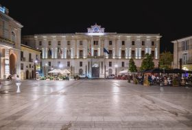 Potenza, Piazza Mario Pagano - Foto Nicola Remollino