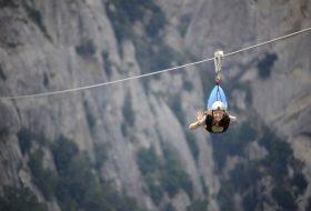 Volo dell'angelo Dolomiti Lucane